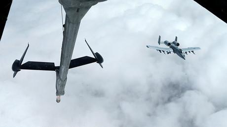 A US Air Force A-10 Thunderbolt-2 © Hamad I Mohammed
