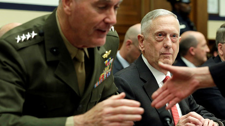 593f6835c3618889328b456a Pentagon chief wants excess bases closed, but warns cuts put 'troops at greater risk'