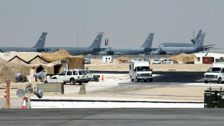A general view of the Al-Udeid air base © Rabih Moghrabi