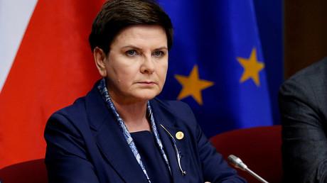 Poland's Prime Minister Beata Szydlo © Francois Lenoir