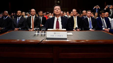 Former FBI Director James Comey © Jonathan Ernst