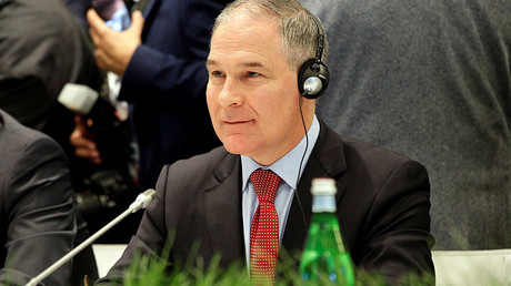 Environmental Protection Agency (EPA) Administrator Scott Pruitt © Max Rossi