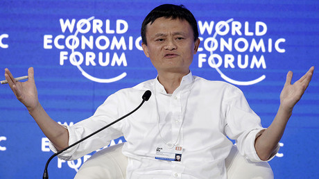 Chairman and chief executive of Alibaba Group Jack Ma © Jason Lee