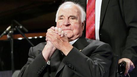 Former German Chancellor Helmut Kohl © David Gannon