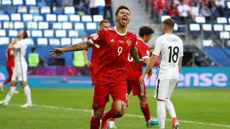 'Smolov's tears showed how much we cared' – Russia manager Cherchesov on Confed Cup defeat