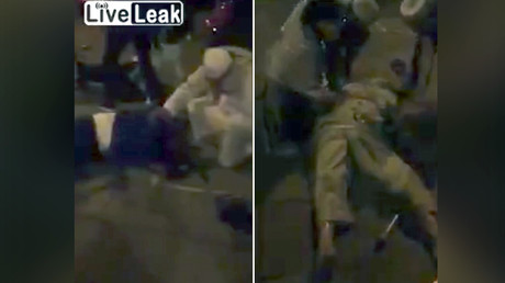 Aftermath of attack near London mosque (VIDEOS)