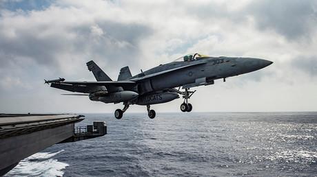 A US Navy F/A-18E Super Hornet © Ryan U. Kledzik