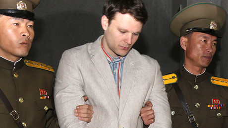 FILE PHOTO: American student Otto Frederick Warmbier. © Guo Yina / Global Look Press