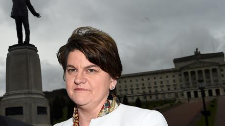 Leader of the Democratic Unionist Party (DUP) Arlene Foster © Clodagh Kilcoyne