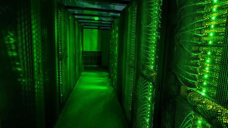 Servers for data storage © Sigtryggur Ari
