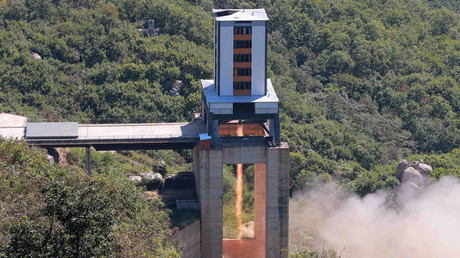 Image result for North Korea just tested a rocket engine that could power a long-range nuke