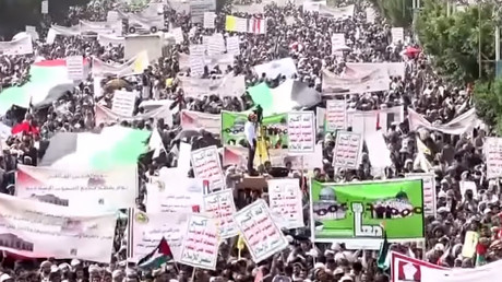 Yemen: 1,000s rally in Sanaa on Al-Quds Day