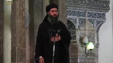FILE PHOTO: Leader of the militant Islamic State Abu Bakr al-Baghdadi © Reuters