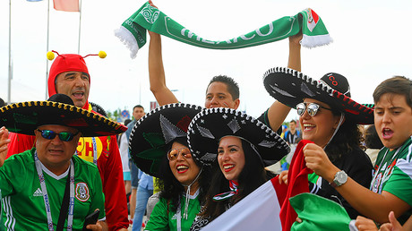 Mexican fans during the 2017 FIFA Confederations Cup in Kazan © Alexey Filippov