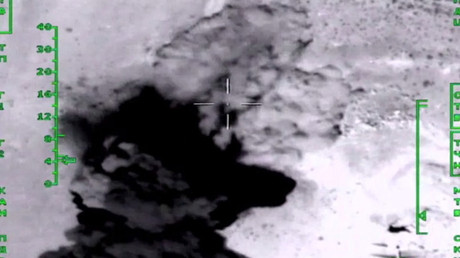 Syria: Defense Ministry footage shows Kalibr missiles obliterating IS targets