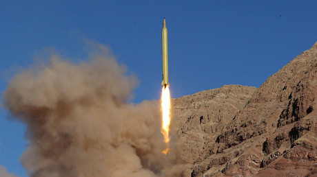 FILE PHOTO Ballistic missile is launched and tested in an undisclosed location, Iran © Mahmood Hosseini