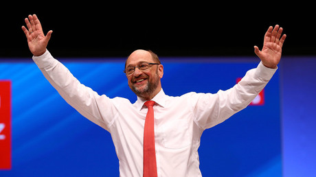 German Chancellor candidate Martin Schulz © Wolfgang Rattay