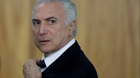 Brazilian President Temer charged with multi-million-dollar bribery