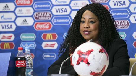 FILE PHOTO. FIFA Secretary General Fatma Samoura. ©Bai Xueqi / Xinhua / Global Look Press