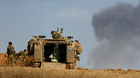 IDF targets Syrian positions in response to projectile hitting Golan Heights