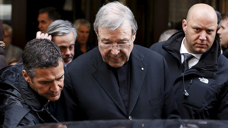 59545b8cc36188d5548b45df Vatican's 3rd most powerful figure, Cardinal Pell, charged with multiple sex assaults