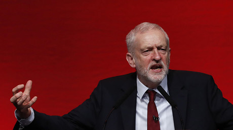 The leader of Britain's opposition Labour Party, Jeremy Corbyn. ©Russell Cheyne