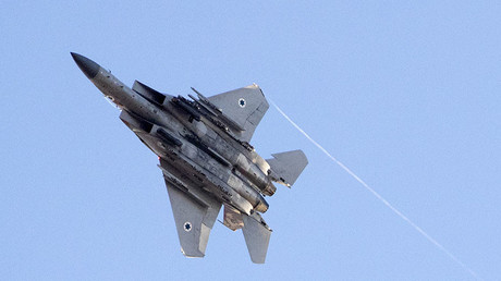 FILE PHOTO: An Israeli Air Force F-15 Eagle fighter plane ©Jack Guez