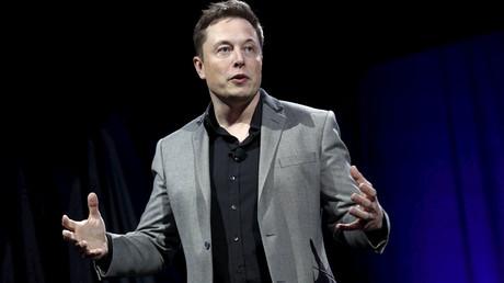 Tesla Motors CEO Elon Musk © Patrick Fallon
