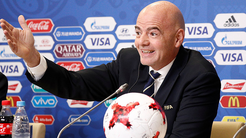 'We heard about hooligans & racism, but no incidents, all ran smoothly' – FIFA chief Infantino