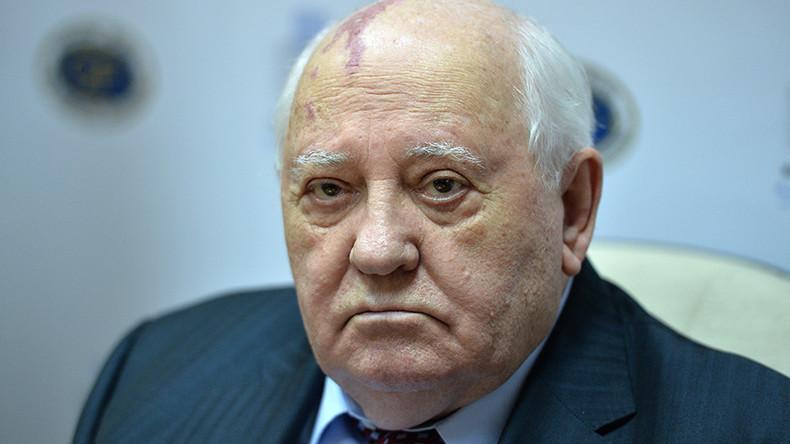 Gorbachev blames current Russia-US spat on Washington's selfishness