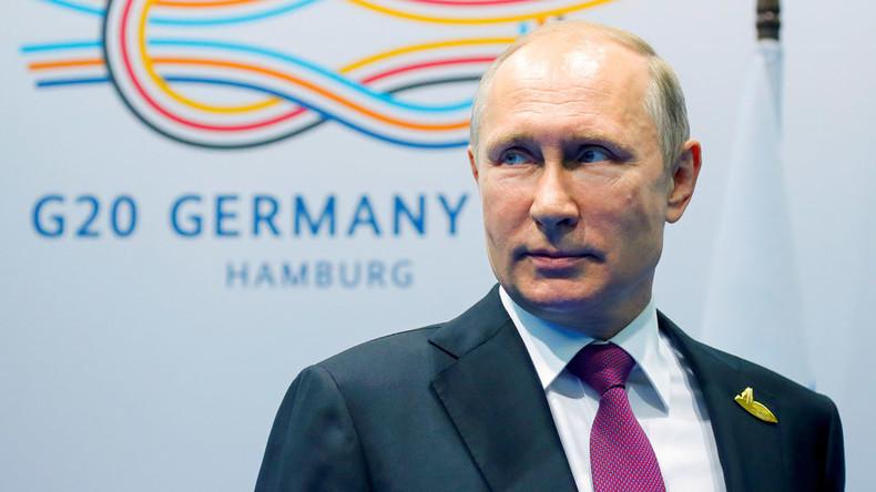Putin speaks to media at G20 summit in Hamburg (WATCH LIVE)