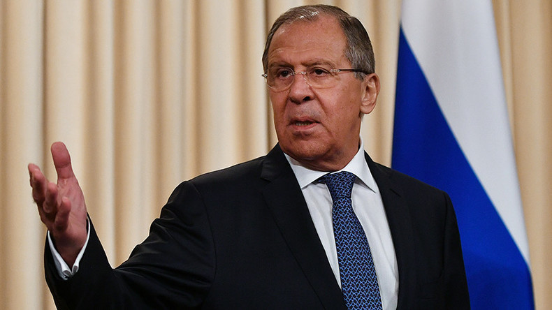 Lavrov: Shortsighted policies of US, EU in many ways provoked Ukrainian crisis (WATCH LIVE)