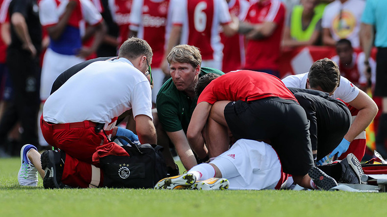 Ajax midfielder suffered 'serious, permanent brain damage' after collapsing on pitch