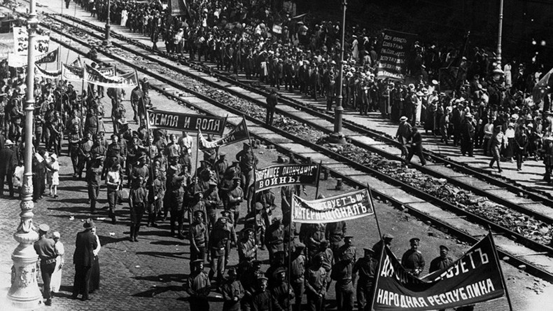 #1917LIVE: 'A crisis of epic proportions is sweeping over Russia' – Lenin