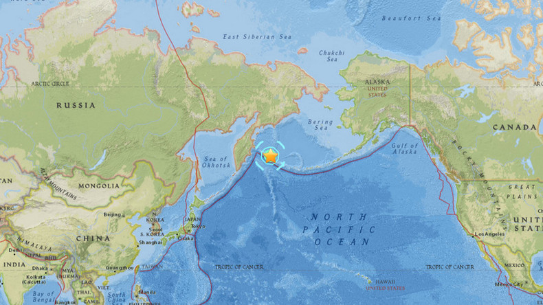 Tsunami alert as powerful quake hits off Russia's Kamchatka