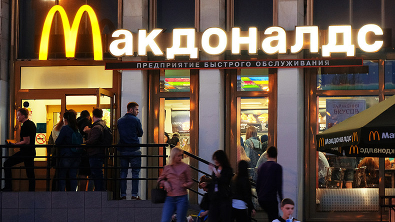 'Not a holy cow': Russian MP seeks sanitary sanctions on McDonald's