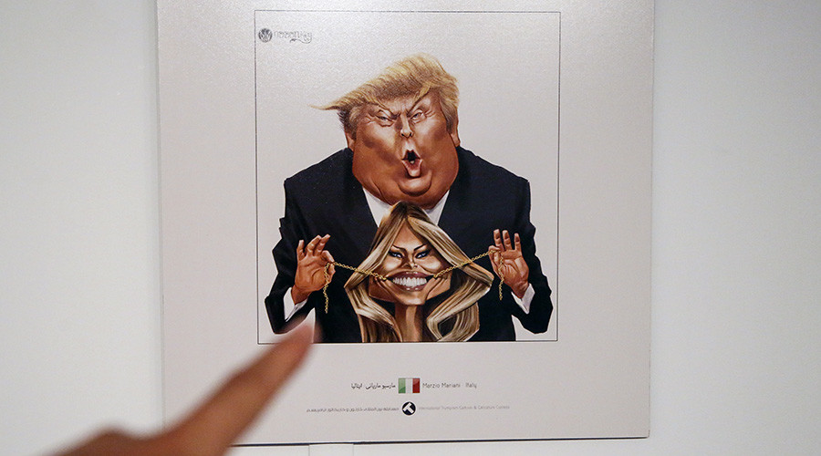 Iran holds 'Trumpism' cartoon contest mocking US president (PHOTOS)