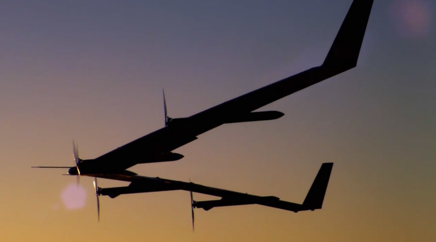 Facebook tests drone to beam internet to everyone in the world
