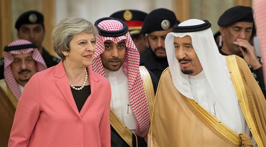 Theresa May 'sitting' on UK terrorism funding report to protect Saudi allies