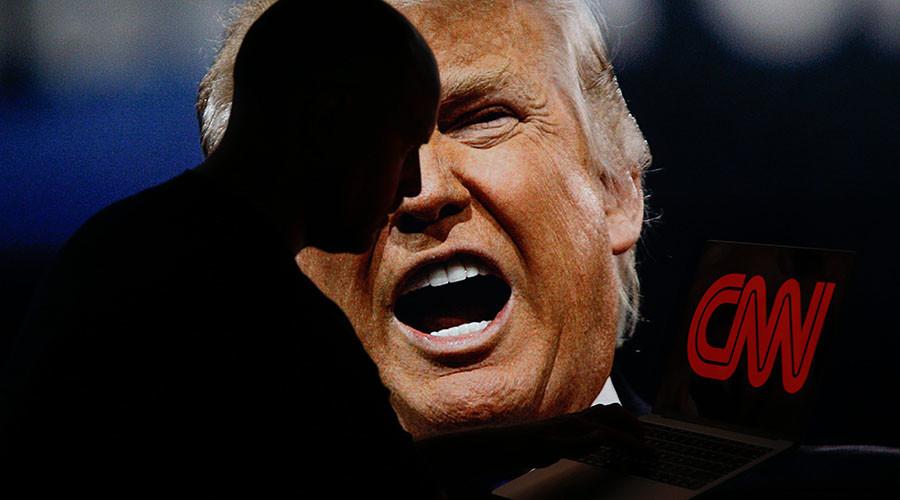 Trump v CNN: Republican, Democrat voters see spat through different trustworthiness lenses