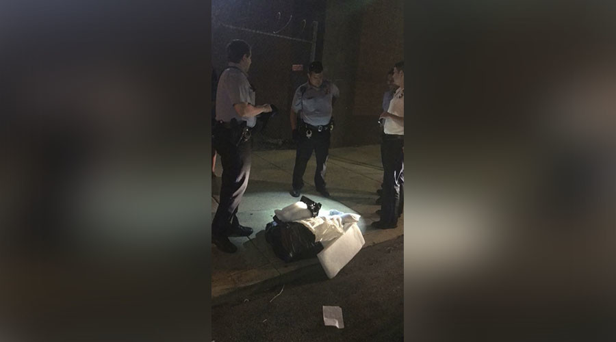 Child-sized casket with organs inside found on N. Philly sidewalk