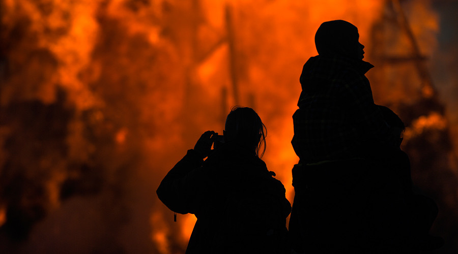 Witch-hunt in 2017: People suspicious of evil powers burn widow's house in Russia's Far East