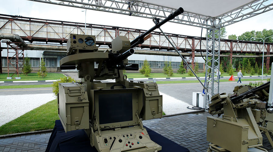 Kalashnikov develops fully automated neural network-based combat module