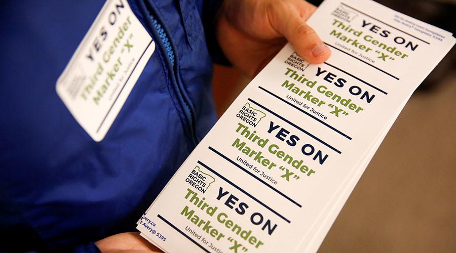 Oregon becomes 1st US state to offer gender-neutral driver's licenses