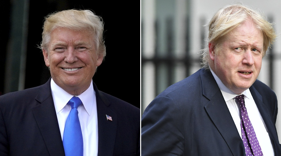 Boris Johnson wishes he could tweet like Donald Trump