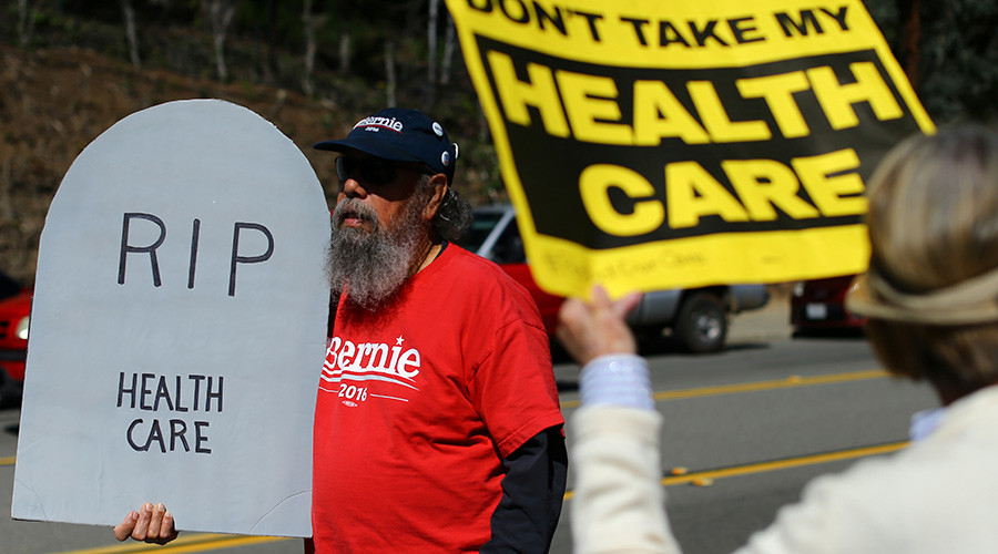 'Tens of thousands of Americans die each year because they have no access to healthcare'