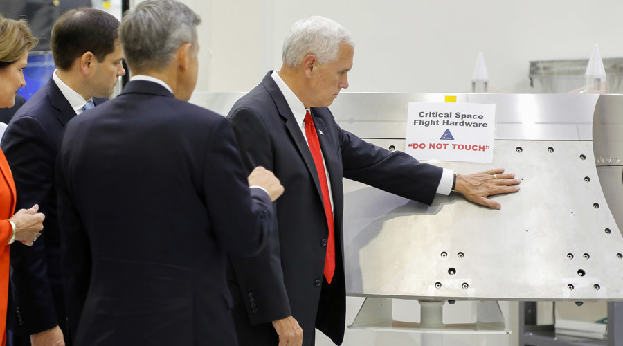 'Dominance in the heavens': Pushy US VP Pence overrides NASA's 'do not touch' command
