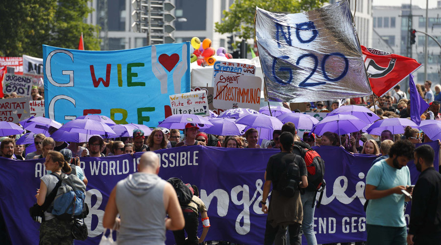 'Unless G20 Summit is held on a deserted island, there will be protests'