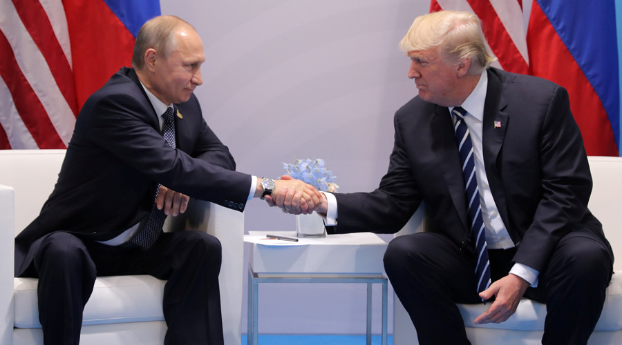 Putin & Trump meet on sidelines of G20 summit (VIDEO)