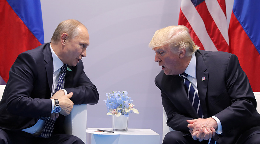 Putin-Trump in deja vu 'House of Cards' moment at G20 Summit (PHOTOS)